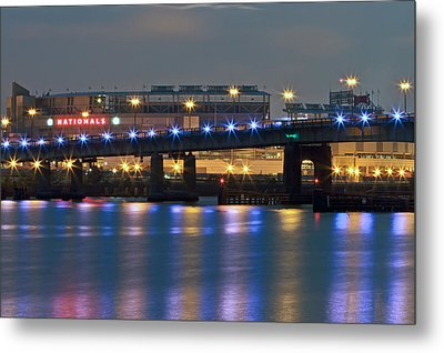 Metal Print featuring the photograph Nationals Park by Jerry Gammon