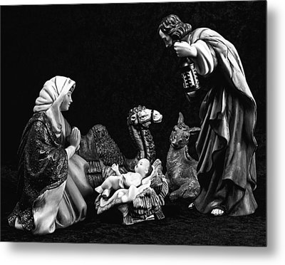 Metal Print featuring the photograph Nativity  by Elf Evans