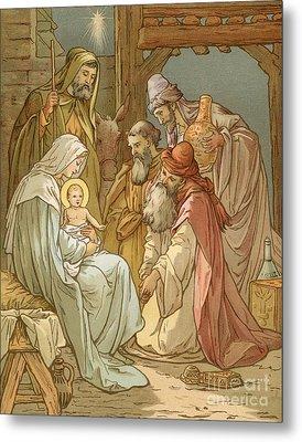 Nativity Metal Print by John Lawson