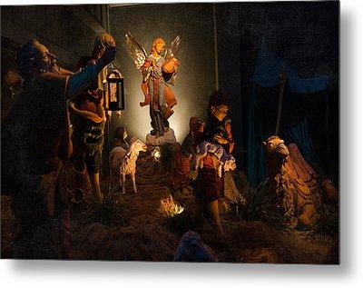 Nativity  Metal Print by Susan  McMenamin