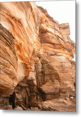Natural Rock Metal Print