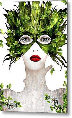 Natural Women Metal Print by Yosi Cupano