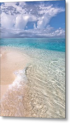 Natural Wonder. Maldives Metal Print