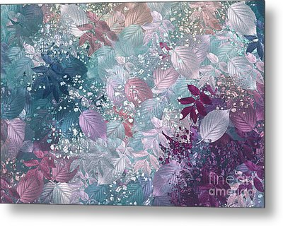 Naturaleaves - S1002b Metal Print by Variance Collections