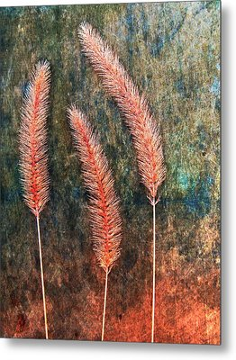 Metal Print featuring the digital art Nature Abstract 15 by Maria Huntley