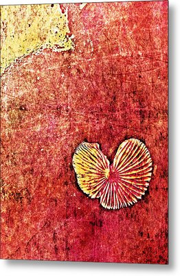 Metal Print featuring the digital art Nature Abstract 4 by Maria Huntley