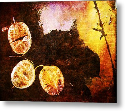 Metal Print featuring the digital art Nature Abstract 6 by Maria Huntley