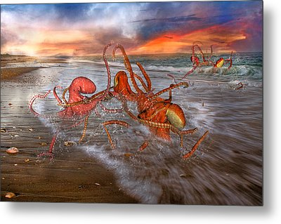 Nature Of The Game Metal Print by Betsy Knapp