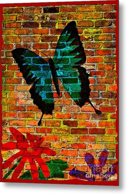 Nature On The Wall Metal Print by Leanne Seymour
