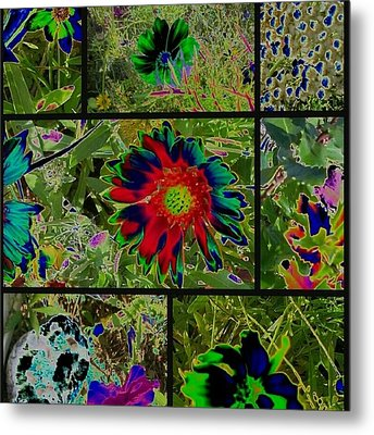 Nature Reprise Metal Print
