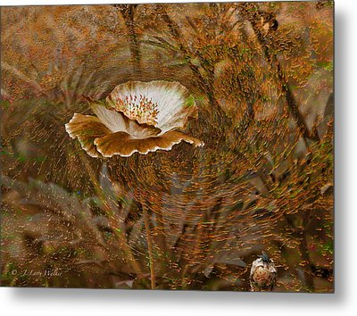 Metal Print featuring the digital art Nature's Artistry At Work by J Larry Walker