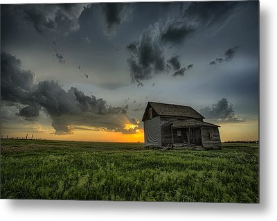 Nature's Beautiful Fury Metal Print by Thomas Zimmerman
