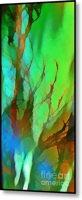 Natures Beauty Abstract Metal Print by John Malone