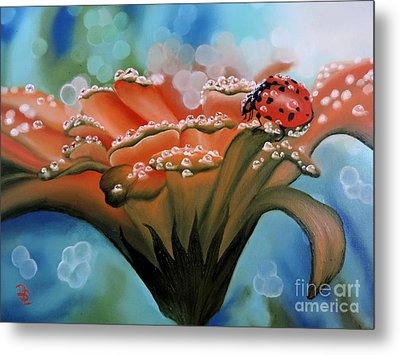 Natures Blessings Metal Print by Dianna Lewis