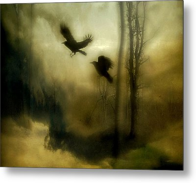 Nature's Blur Metal Print by Gothicrow Images