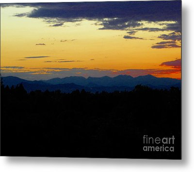 Metal Print featuring the photograph Natures Brow by Diane Miller