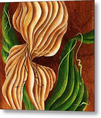 Nature's Curves Metal Print by Brenda Bryant