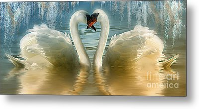 Natures Love Metal Print by Elaine Manley