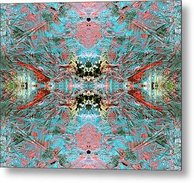 Crystallizing Energy Metal Print
