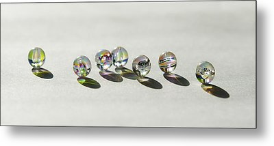 Naughty Beads Metal Print by Svetlana Sewell
