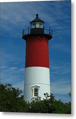 Nauset Beach Lighthouse Metal Print by Juergen Roth