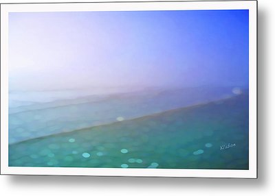 Metal Print featuring the digital art Nauset Beach Nine by David Klaboe