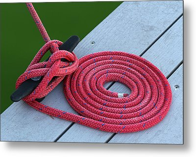 Nautical Details Metal Print by Juergen Roth