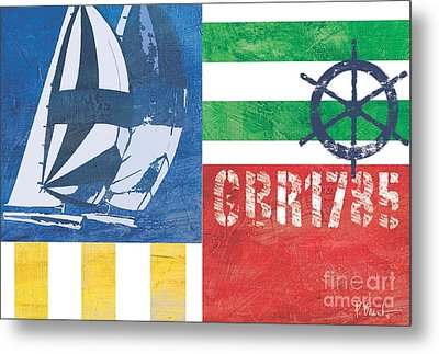 Nautical Flair II Metal Print by Paul Brent