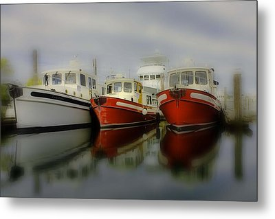 Metal Print featuring the photograph Nautical by Sonya Lang