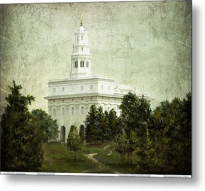 Nauvoo Temple Metal Print