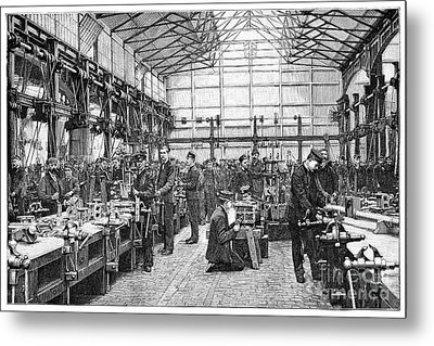 Naval Engineering School, 19th Century Metal Print by Spl