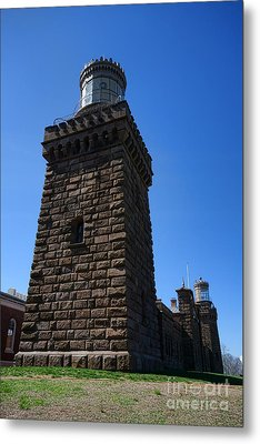Navesink Twin Lights Metal Print by Olivier Le Queinec