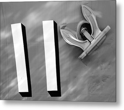 Navy 11 Metal Print by Sandro Rossi