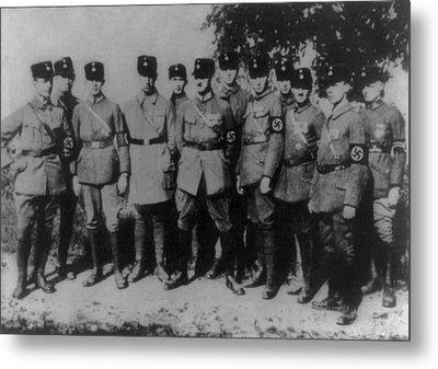 Nazi Party Headquarters Guard Metal Print by Everett