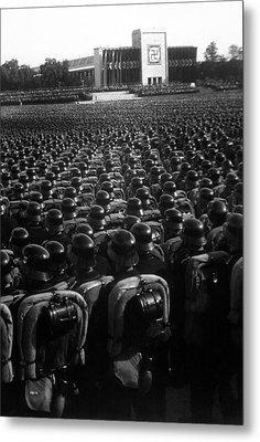 Nazi Party Rally In Nuremberg, November Metal Print by Everett