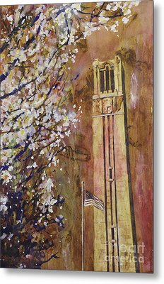 Ncsu Bell Tower Metal Print