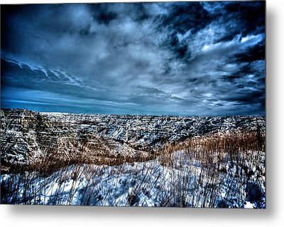Nd Bad Lands Metal Print