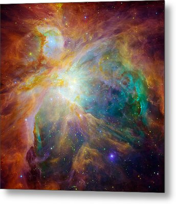 Chaos At The Heart Of Orion Metal Print by Nasa