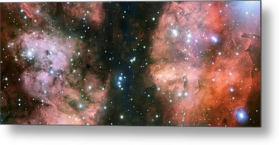 Nebula Ngc 6357 Metal Print by European Southern Observatory