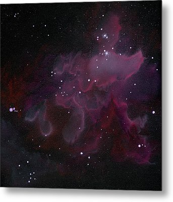 Nebula One Metal Print by Emily Magone