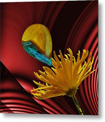 Nectar Of The Gods Metal Print by Barbara St Jean
