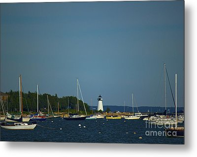 Ned's Point In Mattapoisett Metal Print by Amazing Jules