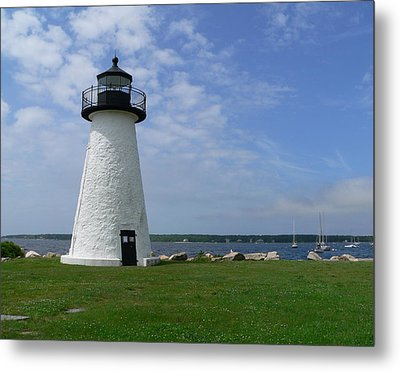 Neds Point Lighthouse Metal Print