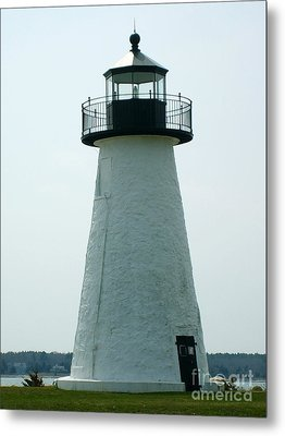 Ned's Point Lighthouse Metal Print