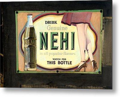 Nehi Metal Print
