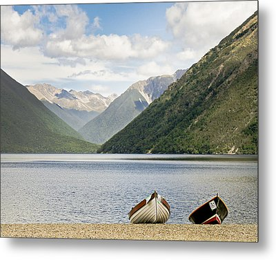 Nelson Lakes New Zealand Metal Print