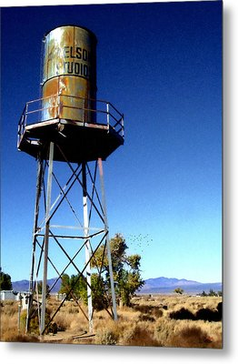 Nelson Studio  Color - Lucerne Valley Metal Print by Glenn McCarthy Art and Photography