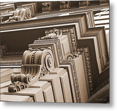 Neo-classical Architecture Metal Print