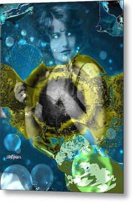Neptune's Daughter Metal Print by Seth Weaver