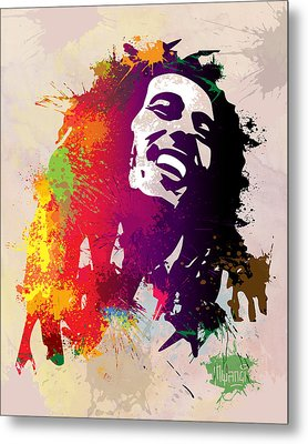 Nesta Robert  Metal Print by Anthony Mwangi